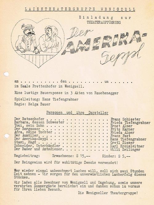 Der Amerikaseppl_1947_1961_Plakat