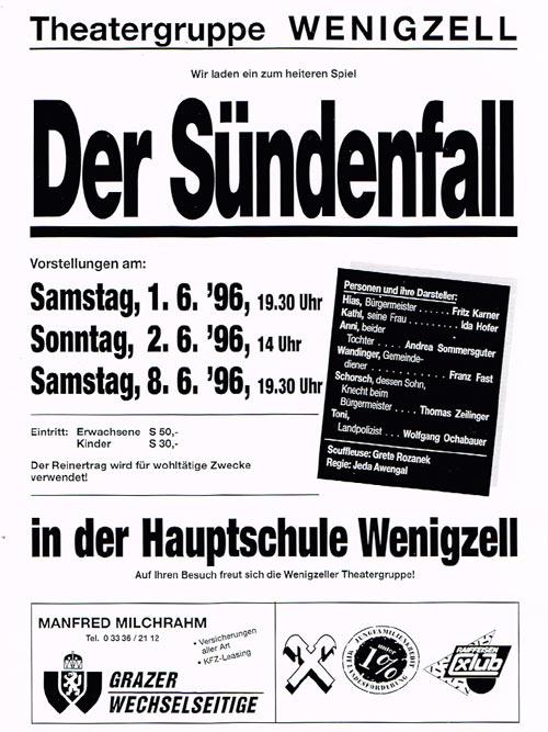 Der Sündenfall_1996_Plakat