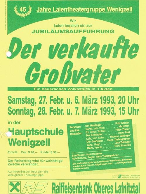 Der verkaufte Großvater_1953_1968_1993_Plakat