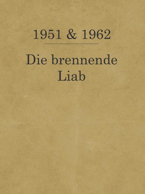 Die brennende Liab_1951_1962